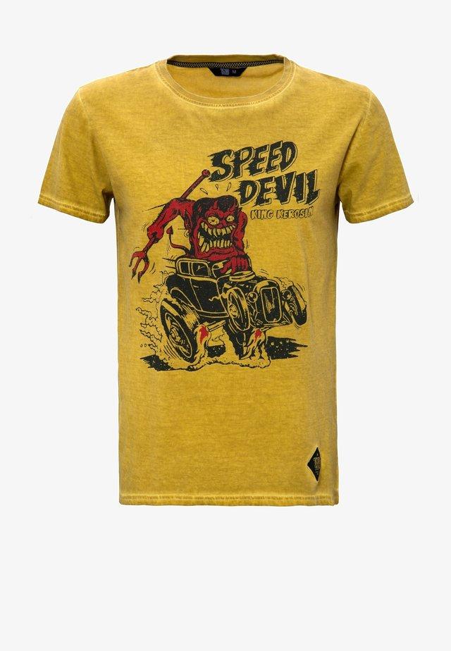 T-shirt print - senf
