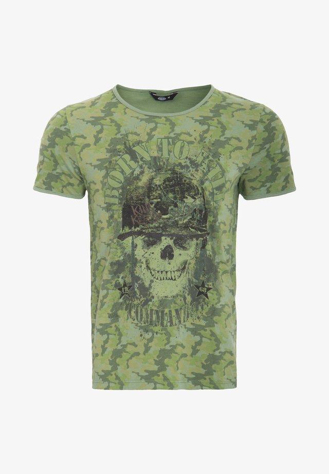 T-shirt imprimé - evergreen