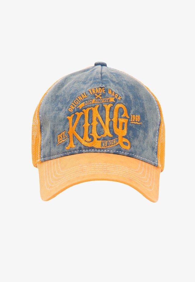 USED LOOK KING - Cap - orange