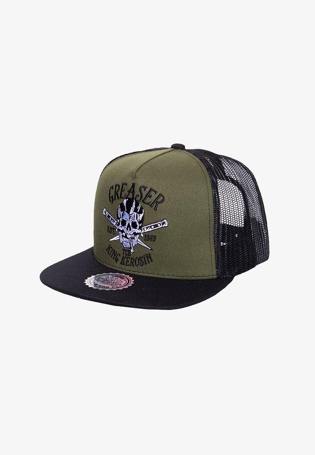 Hat - schwarz / grün