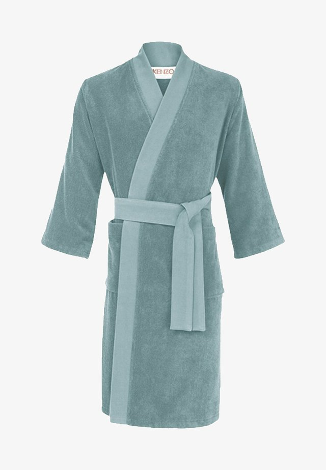 Dressing gown - turquoise