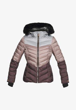 BRINLEY - Ski jacket - dunkelrose