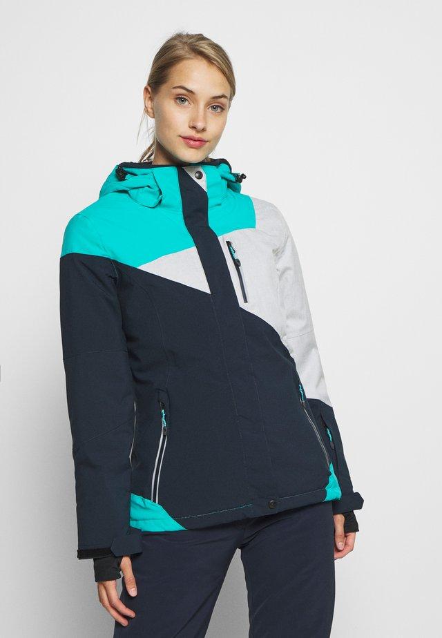 Skijakker - aqua