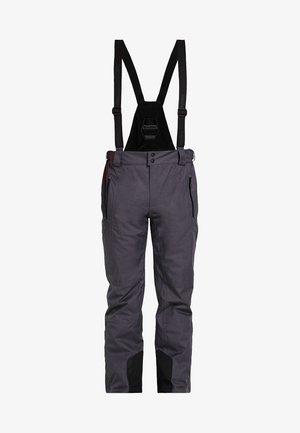 ENOSH - Zimní kalhoty - anthrazit melange