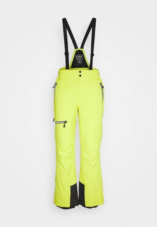 ZAYN - Snow pants - lime