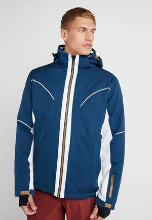 AKONO COLOURBLOCK - Lyžařská bunda - dunkelblau