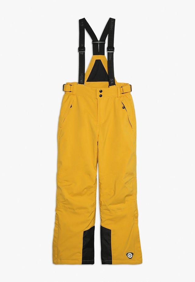 GAUROR - Zimní kalhoty - gebranntes gelb