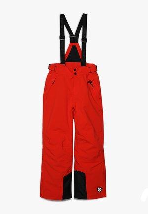 GAUROR - Snow pants - dunkelorange