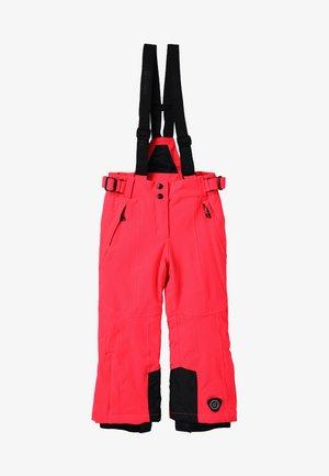 GANDARA - Pantaloni da neve - neon coral