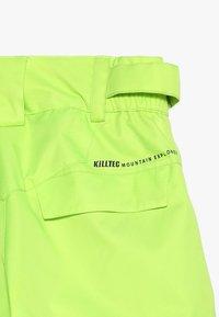 Killtec - MADDOCK  - Pantaloni da neve - helllime - 7