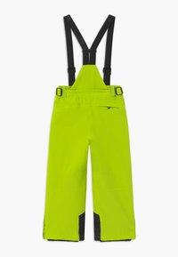 Killtec - GAUROR - Spodnie narciarskie - lime/schwarz - 1