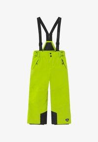 Killtec - GAUROR - Spodnie narciarskie - lime/schwarz - 3