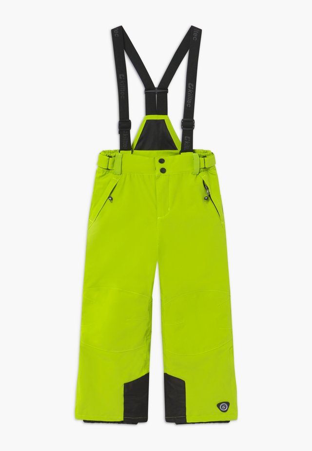 GAUROR - Zimní kalhoty - lime/schwarz