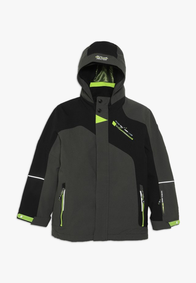 SAMAT - Ski jacket - grün/anthrazit