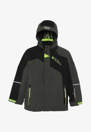 SAMAT - Lyžařská bunda - grün/anthrazit
