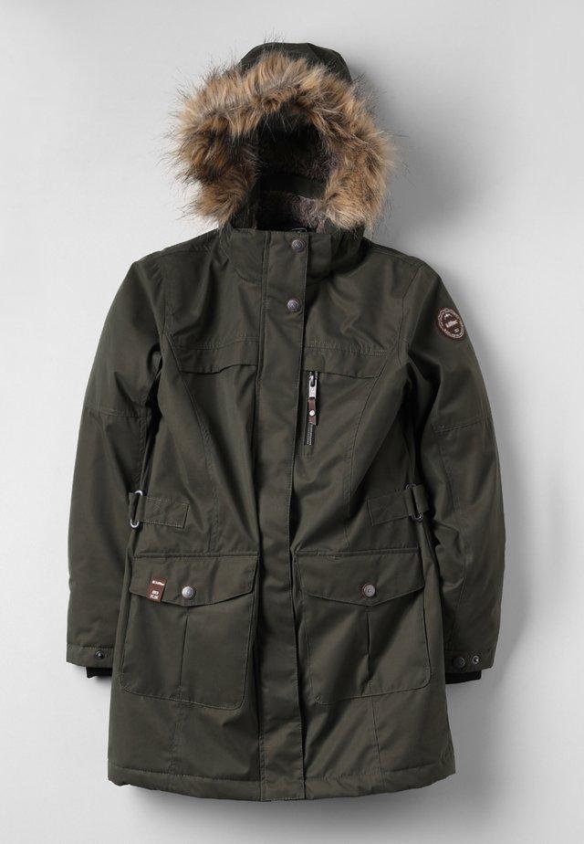 HADARA - Zimní kabát - oliv