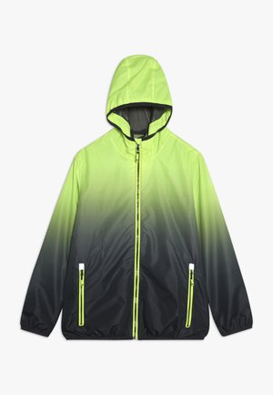 KALIQO  - Waterproof jacket - neon gelb