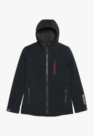 KADARO - Soft shell jacket - schwarz