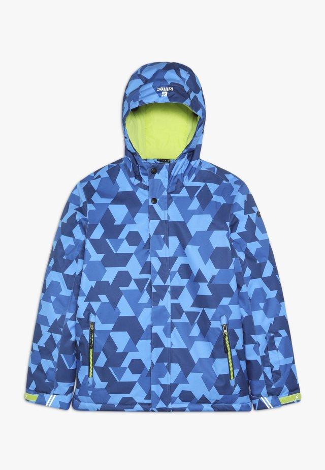 GAVYN ALLOVER  - Ski jacket - blau