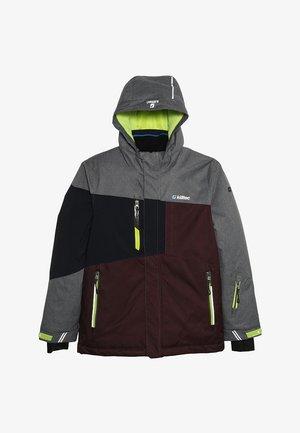 LAURIN - Lyžařská bunda - burgundy