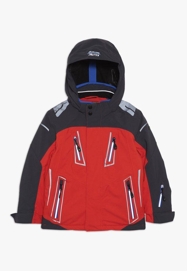 STEFAN - Ski jacket - dunkelorange