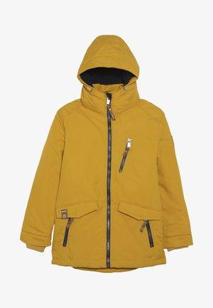 TERREL - Snowboard jacket - dunkelgelb