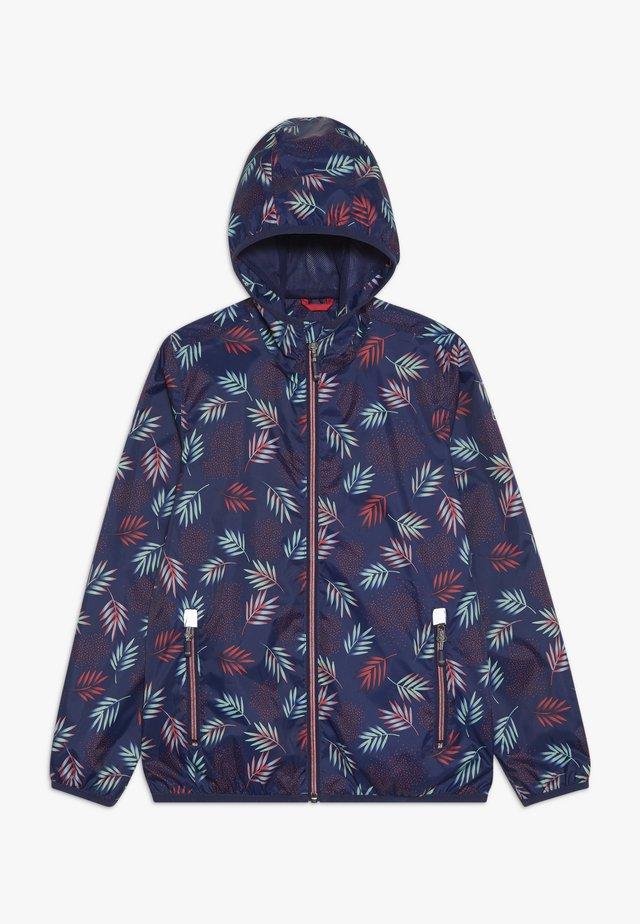DANHY - Regnjakke / vandafvisende jakker - dunkelblau
