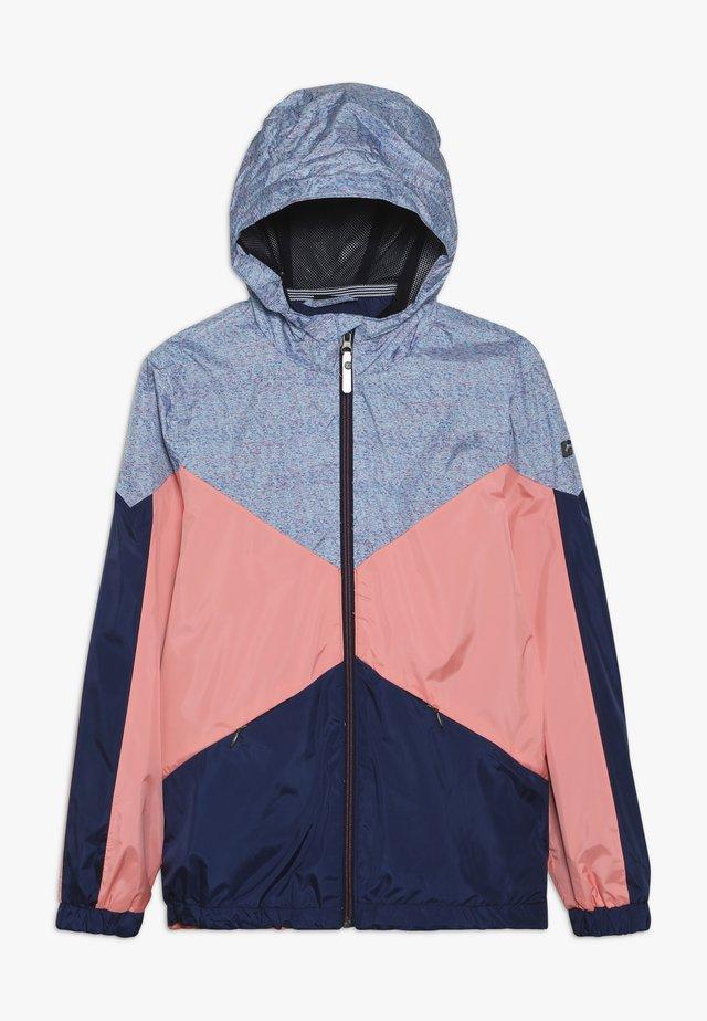 MAELEE - Regenjacke / wasserabweisende Jacke - coral pink