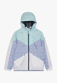 Killtec - MAELEE - Regnjakke / vandafvisende jakker - turquoise/grey/white - 0