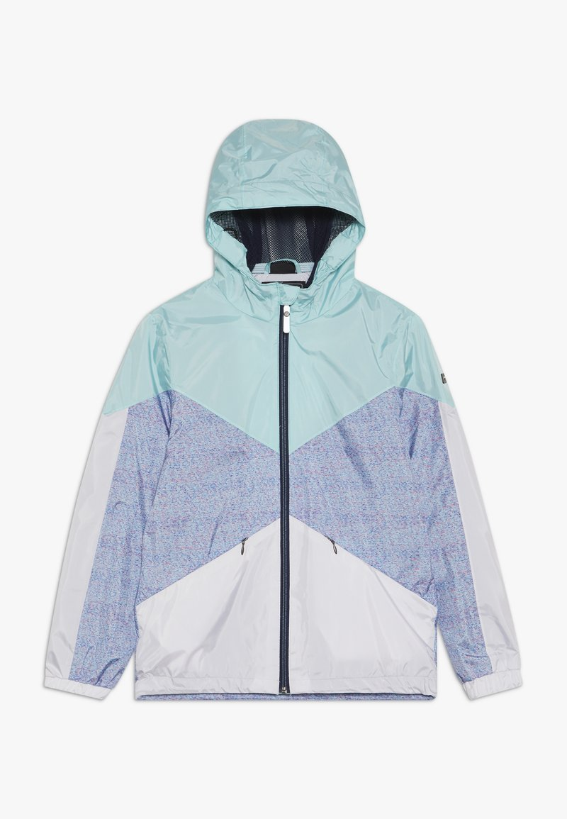 Killtec - MAELEE - Regnjakke / vandafvisende jakker - turquoise/grey/white