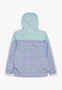 Killtec - MAELEE - Regnjakke / vandafvisende jakker - turquoise/grey/white - 1
