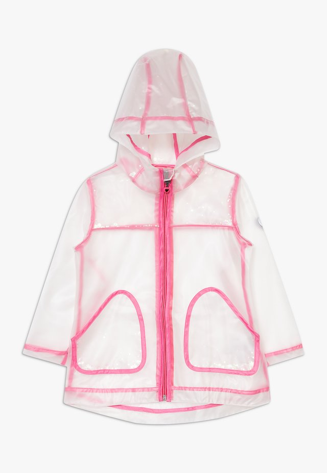 MINI RAINCOAT - Regenjas - pink