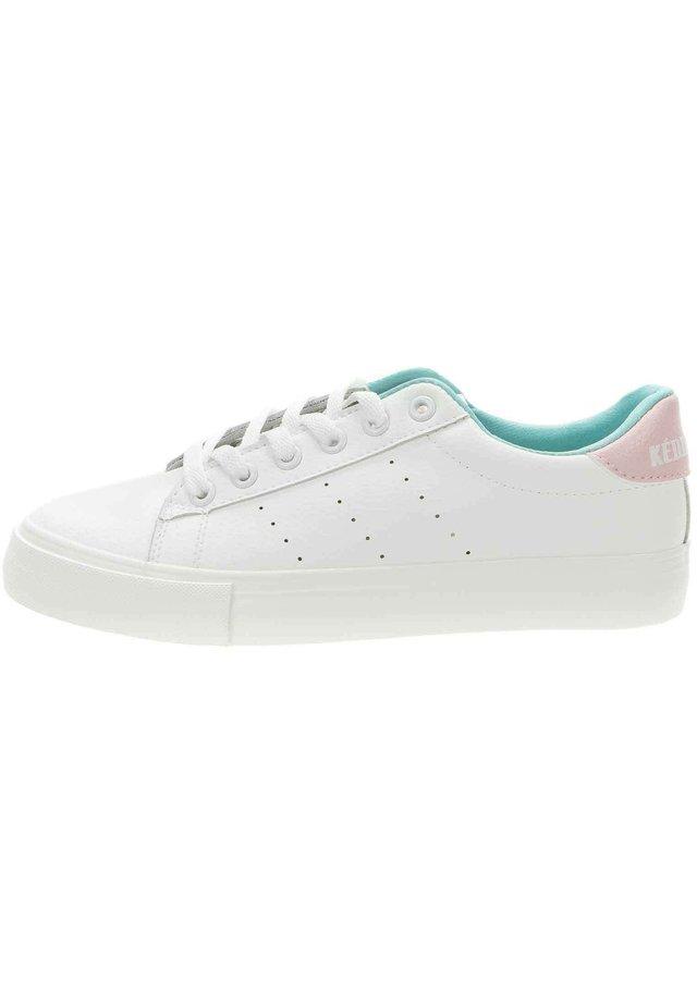 SNEAKER - Sneakers laag - weiß/pink