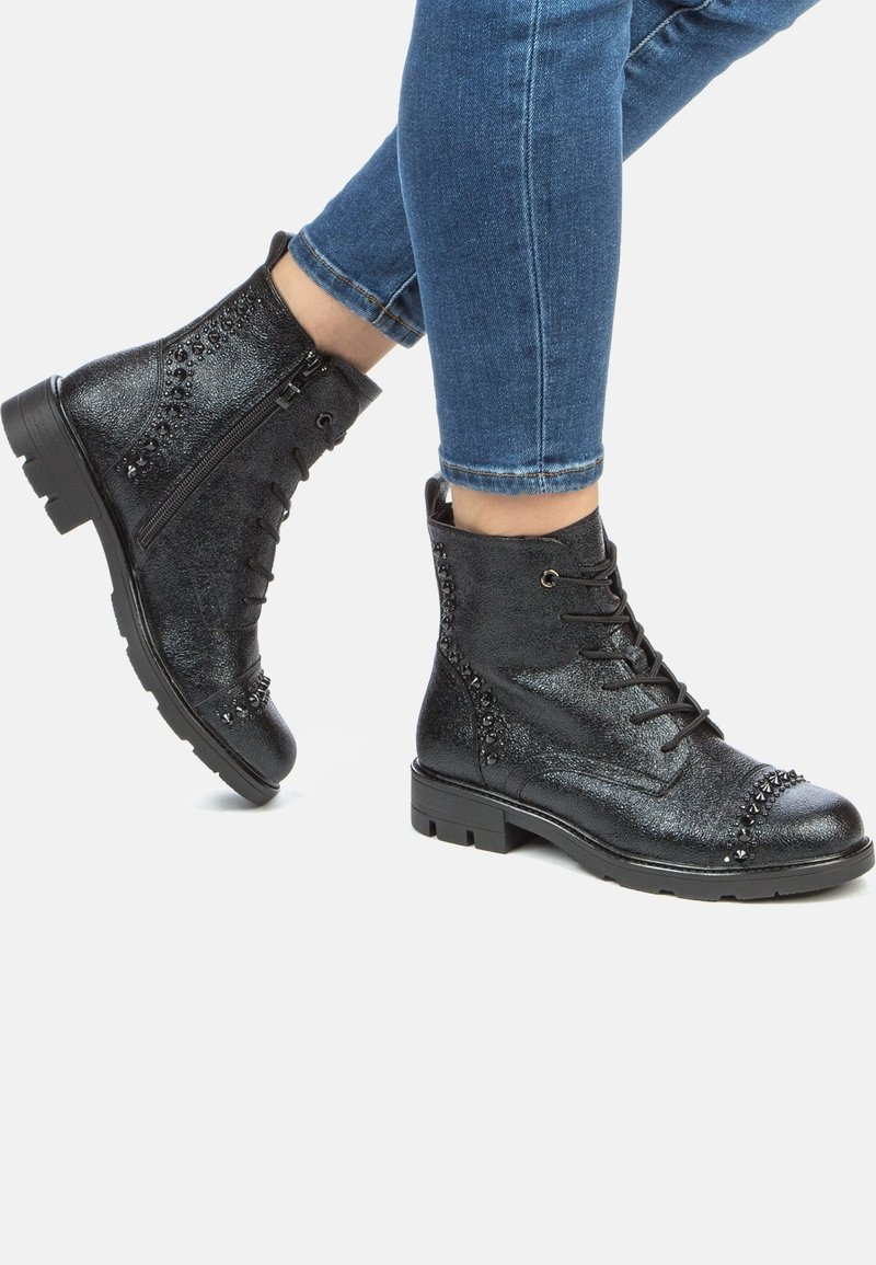 Keddo - Lace-up ankle boots - black