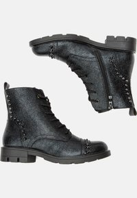 Keddo - Lace-up ankle boots - black - 2