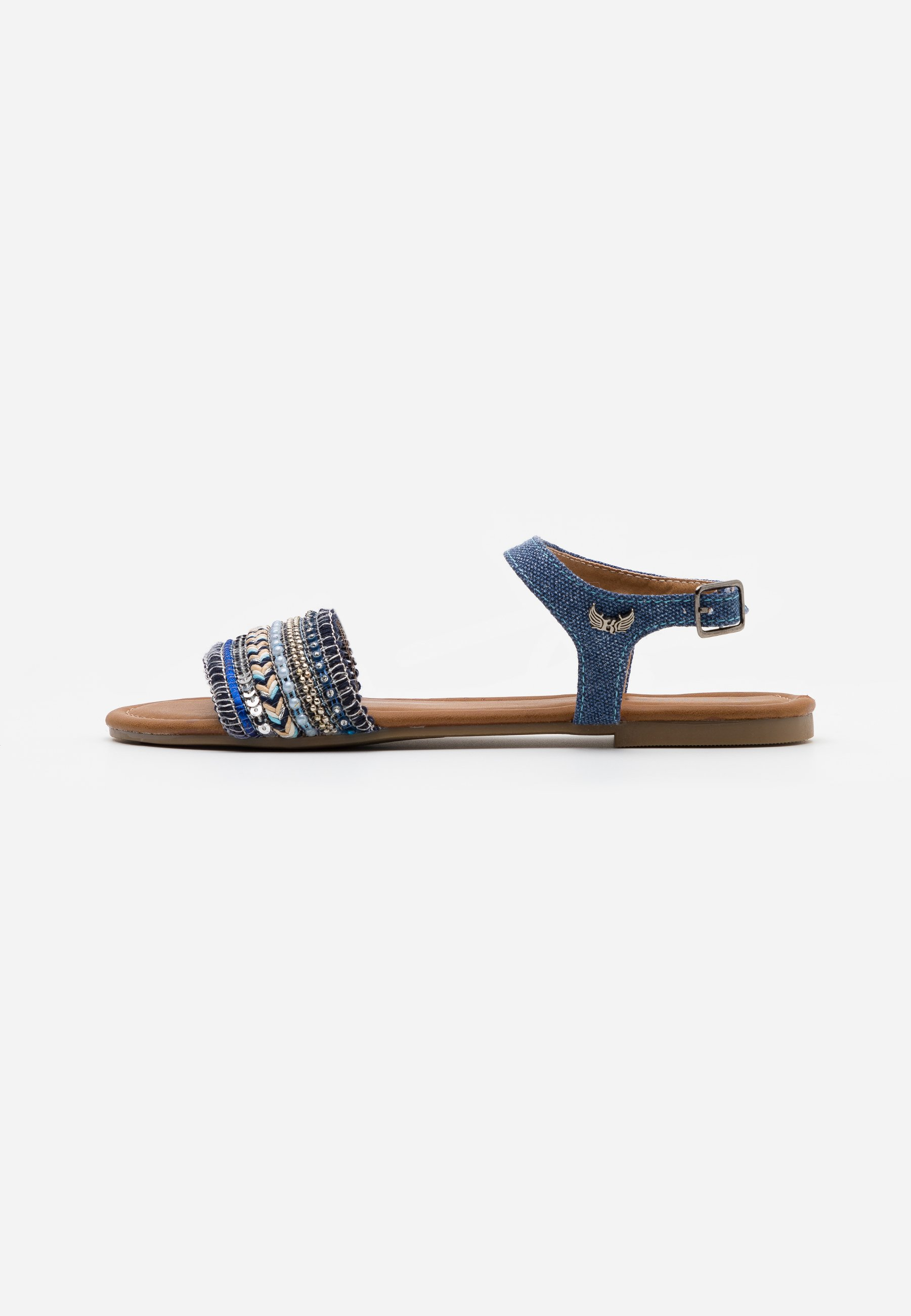 Kaporal RACHELLE - Riemensandalette - bleu jeans kgTAc8