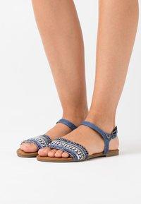 Kaporal - RACHELLE - Sandales - bleu jeans - 0
