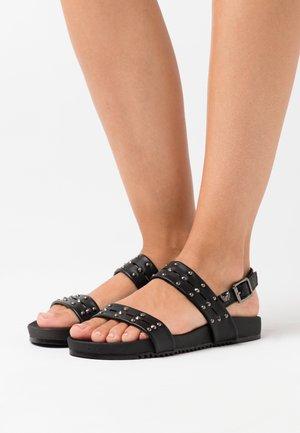 ROSARIA - Sandales - noir