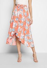 Kaporal - BALI - Áčková sukně - corail - 0