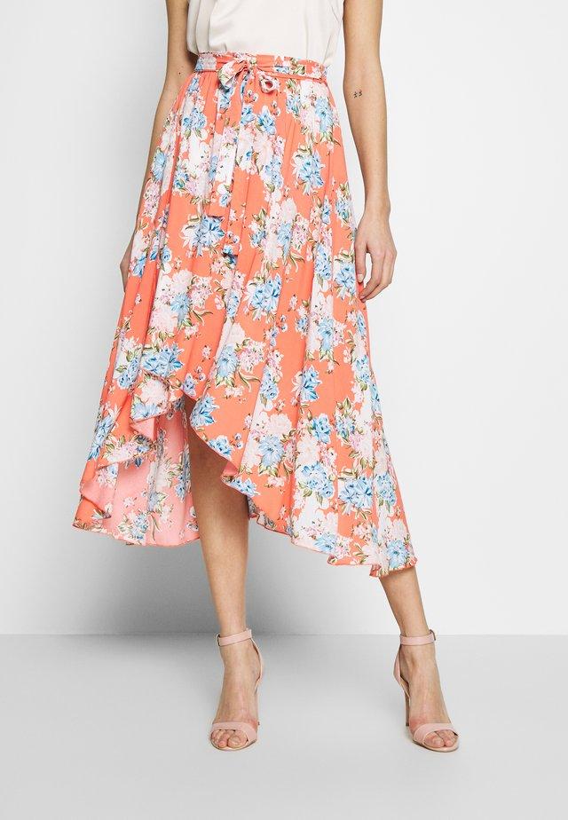 BALI - Áčková sukně - corail
