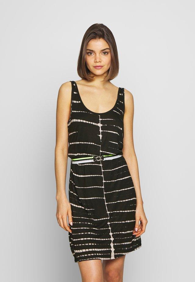 AXELA - Korte jurk - black