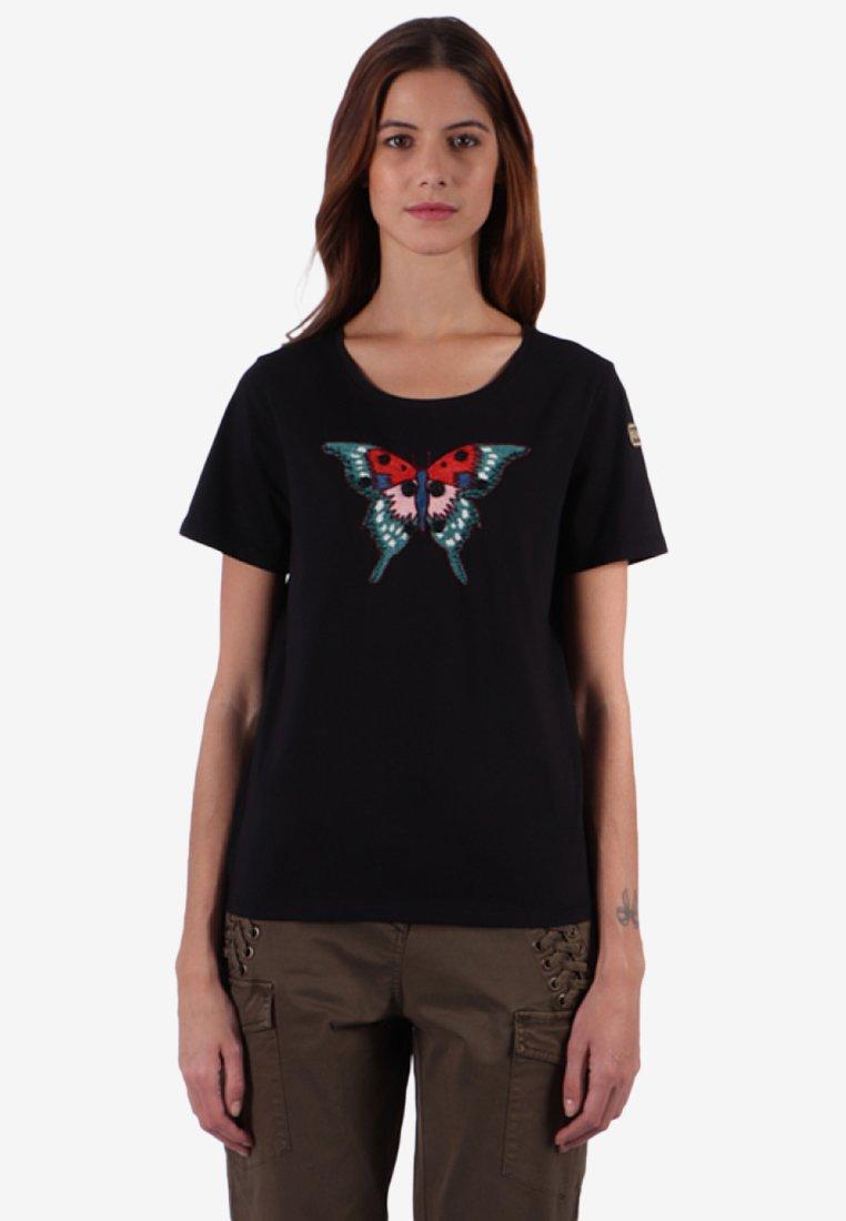 Kaporal - Print T-shirt - black