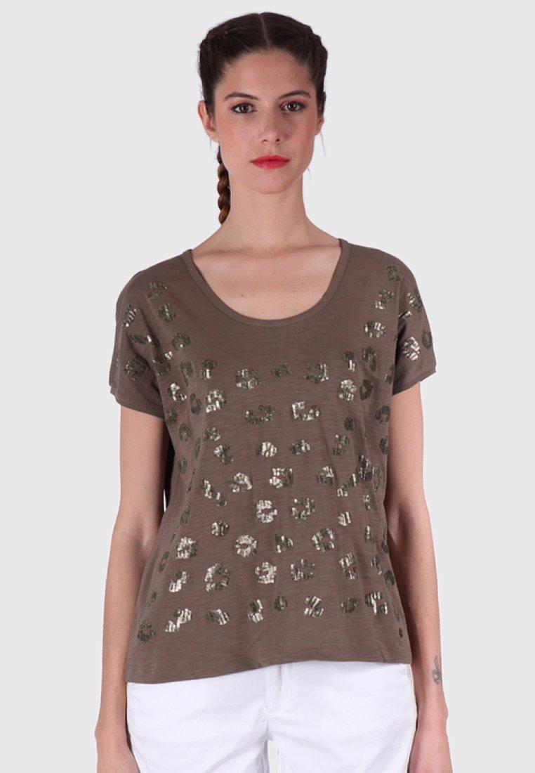 Kaporal - Print T-shirt - brown