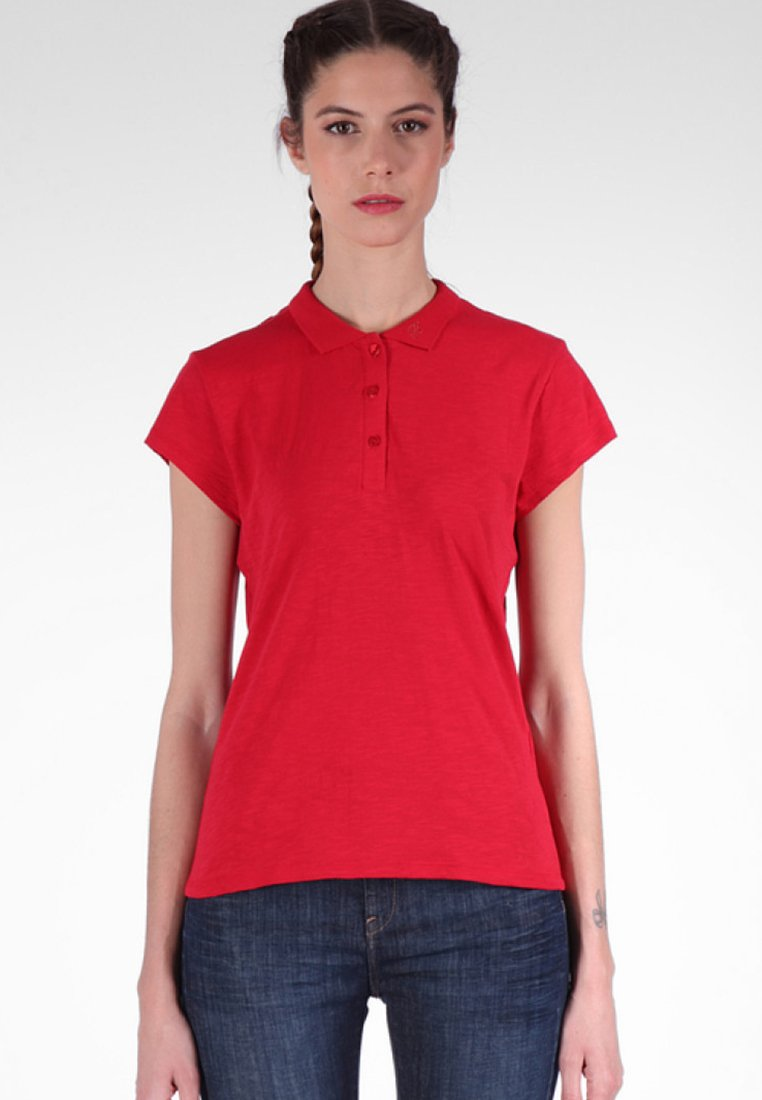 Kaporal - MIT GESTICKTEM ELEMENT - Poloshirt - red