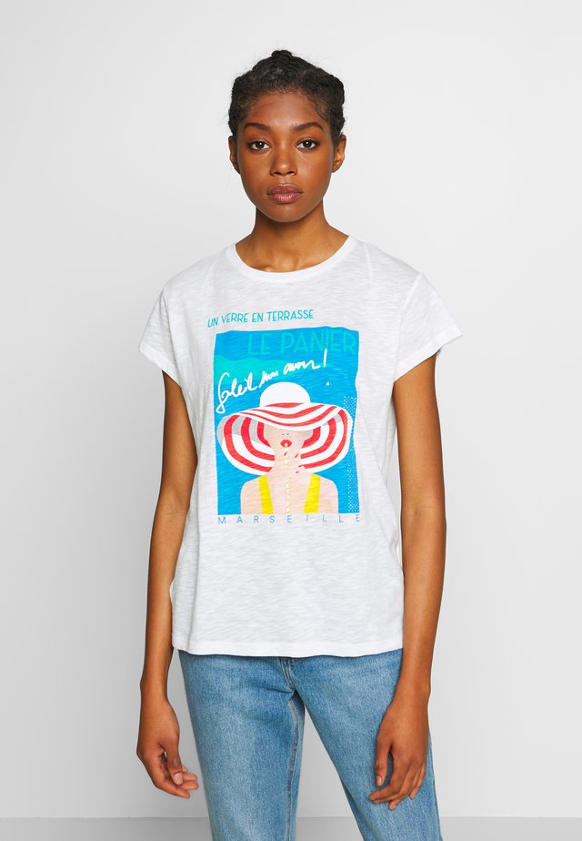RARE - T-shirt med print - white