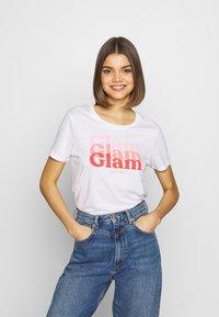 Kaporal - BLAM - T-shirt imprimé - white - 0
