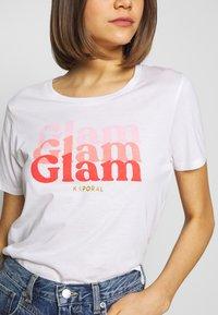 Kaporal - BLAM - T-shirt imprimé - white - 4