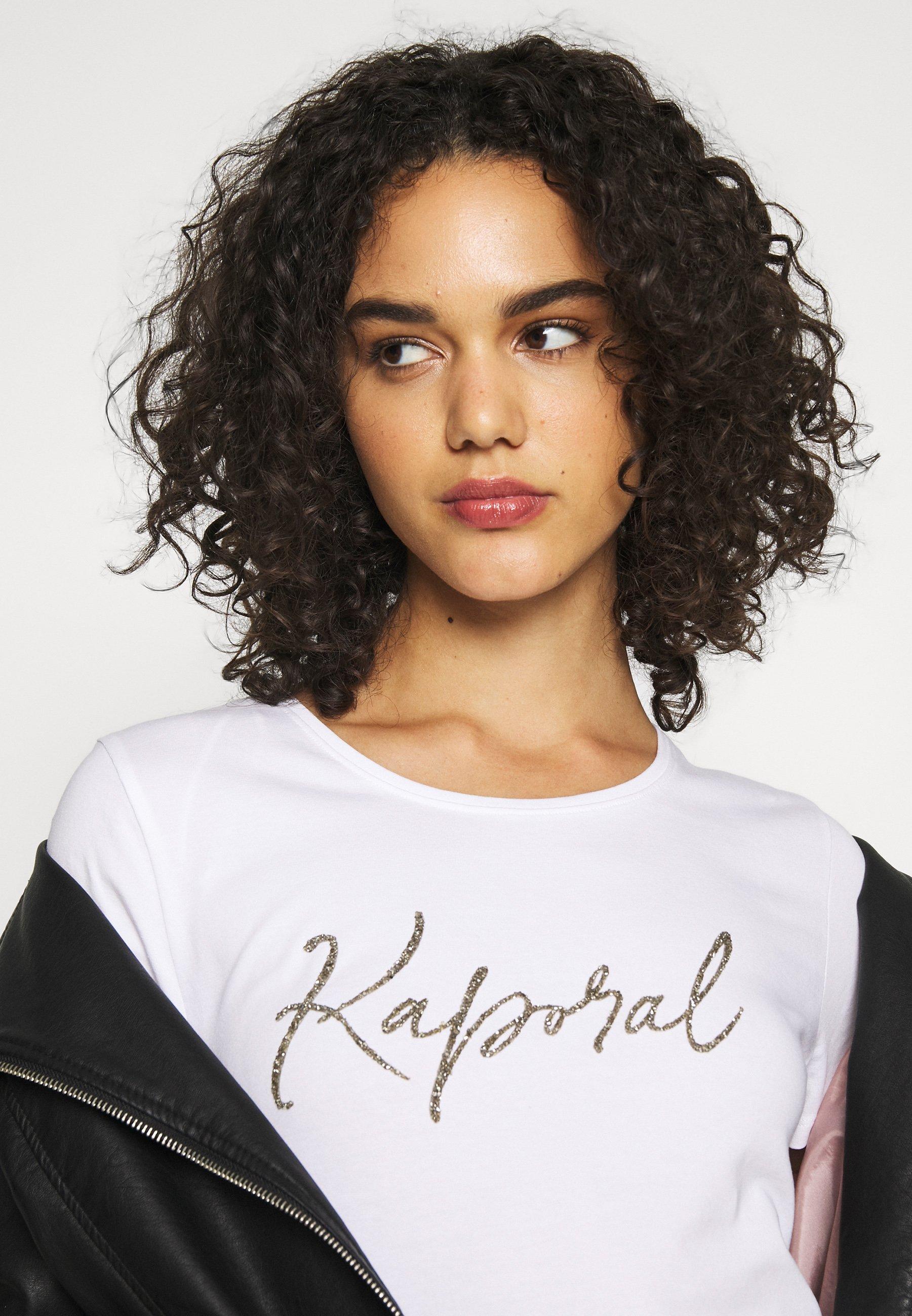 Kaporal Raxi - T-shirt Imprimé White