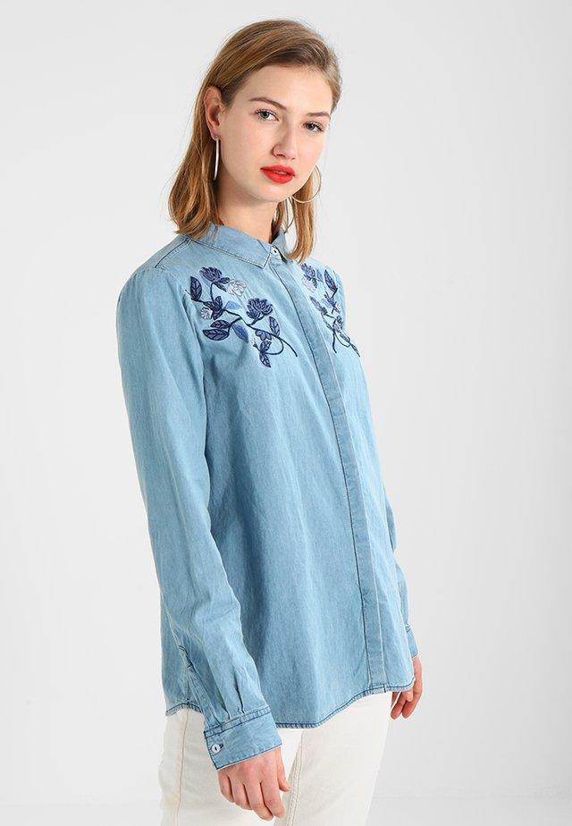 VALEN - Hemdbluse - blau