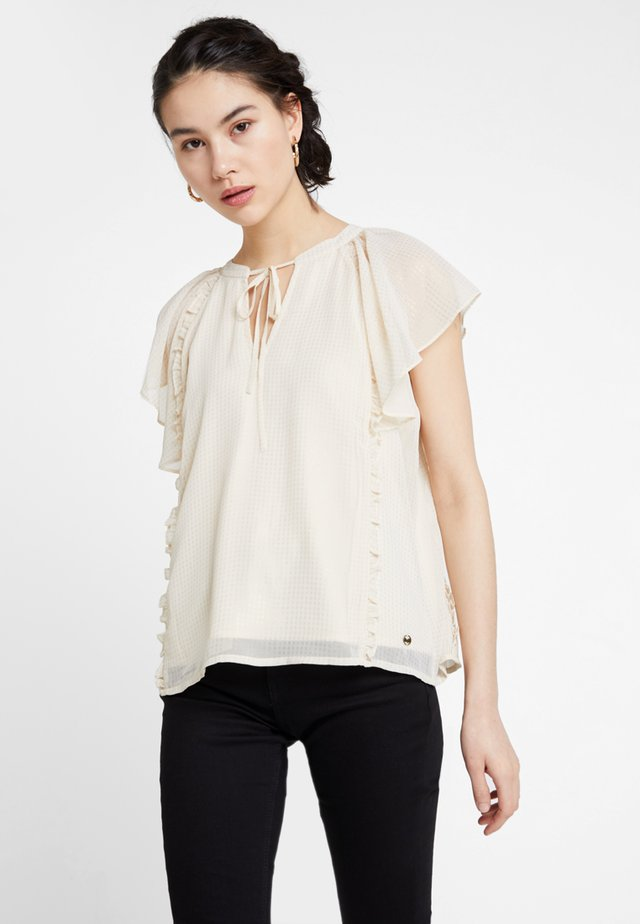FOLY - Blouse - offwhite